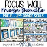 Editable Focus Wall & Mini Poster Mega Bundle