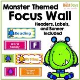 Focus Wall Headers: Monsters