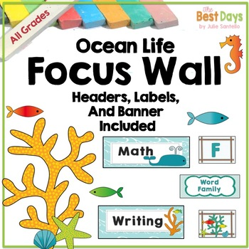 Focus Wall Headers: Ocean Life