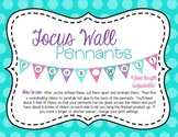 Focus Wall Pennants Decoration Banner