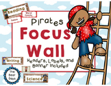 Focus Wall Headers: Pirates