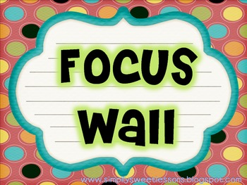 Focus Wall Sign