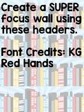 Focus Wall: Superhero