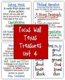 Focus Wall Texas Treasures Unit 4 Second Grade