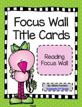 Focus Wall Title Cards