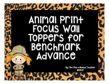 Animal Print Themed Focus Wall Toppers/Headers