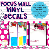 Focus Wall Vinyl Decals