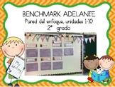Focus Wall for Benchmark Adelante 2nd Grade