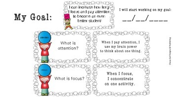 Focus and Attention Mini Lesson--Teaching Students to Self-Monitor