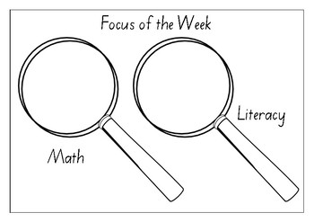 Focus of the Week poster