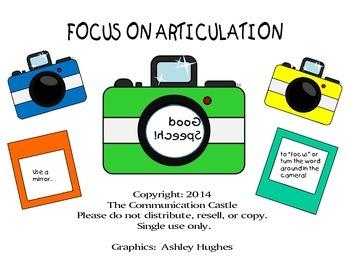 Focus on Articulation