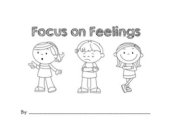 Focus on Feelings: A Fill-In-The-Blank Book