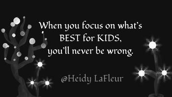 Focus on Kids Printable Poster