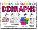Focus on Phonics - Digraphs