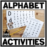Focus on the Alphabet - Printables, Centers, Assessments