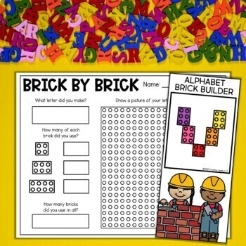 Alphabet Letter Printables, Centers, and Assessments