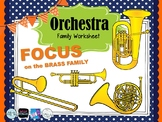 Focus on the BRASS FAMILY