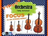 Focus on the STRING FAMILY