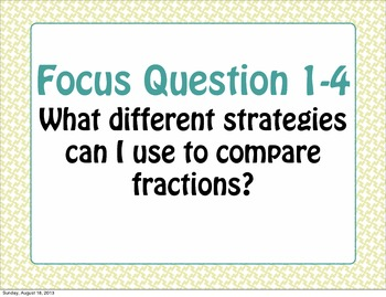 Focus or Essential Questions for Math Expressions Common Core Unit 1 5th Grade