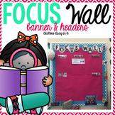 Focus wall banner & headers