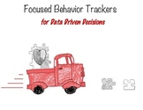 Focused Behavior Trackers for Data Driven Decisions:  Data