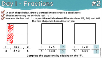 Equivalent Fractions/Foundational Skills - Focused Daily Review - 4th/5th Grade