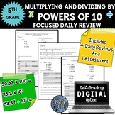 Multiply and Divide by Powers of 10 - Focused Daily Review
