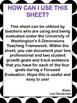 Focused Evaluation Planning Sheet