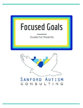 Focused Goals Workbook for Special Needs Families