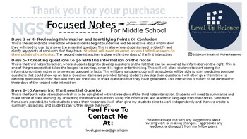 Focused Note Guide
