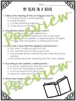 Focused Poetry 3rd Grade: Hobbies