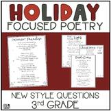 Focused Poetry 3rd Grade: Holidays