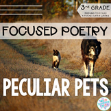 Focused Poetry 3rd Grade: Peculiar Pets