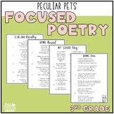 Focused Poetry 3rd Grade: Peculiar Pets