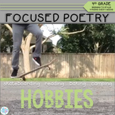 Focused Poetry 4th Grade: Hobbies