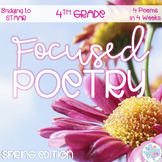 Focused Poetry 4th Grade: Spring Edition