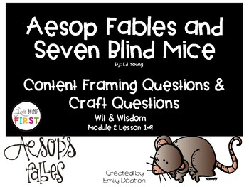 Focusing Questions for Aesop Fables with Wit and Wisdom
