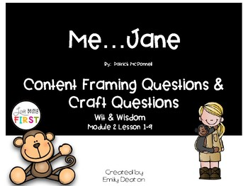 Focusing Questions for Me...Jane with Wit and Wisdom