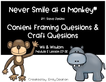 Focusing Questions for Never Smile at a Monkey with Wit and Wisdom