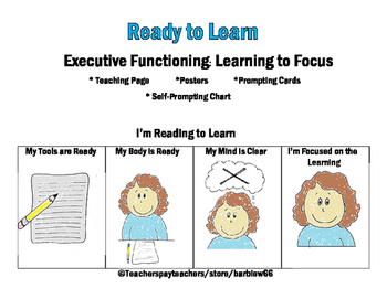 Focusing Strategy for Young Learners:  Executive Functioning Goal