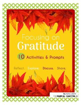 Focusing on Gratitude - Activity Pack