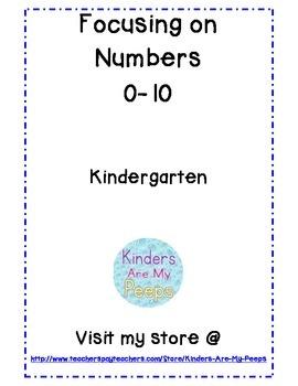Focusing on Numbers 0-10