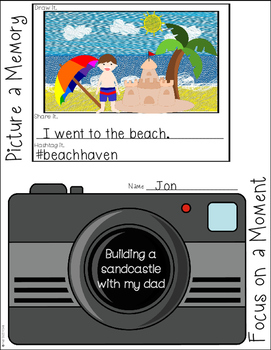Focusing on Small Moments: A Graphic Organizer for Personal Narratives
