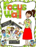 Focus wall in English and Spanish