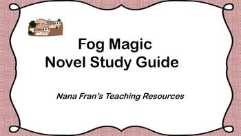 Fog Magic Novel Study Guide