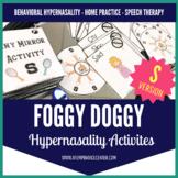 """Foggy Doggy Hypernasality Activities """"S"""""""