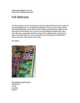 Foil Abstracts