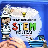Foil Boat Team Building STEM Challenge + Digital Version for Distance Learning