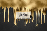 Foil Drips Clipart