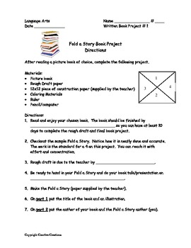 Fold A Story Book Project